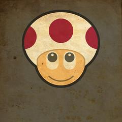 Todos Personagens de Mario Bros Cartoonizado Toad