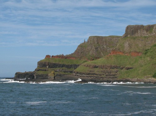Scene from giants causeway