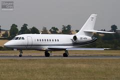 OE-HPH - 209 - Goldeck Flug - Dassault Falcon 2000 - Luton - 100720 - Steven Gray - IMG_8844