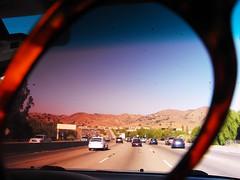 california sunglasses outside los experimental driving angeles roadtrip hills socal tinted venturahighway uvauvb