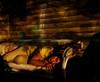 8.52 (sonya ann.) Tags: portrait woman eye girl night self dark long exposure shadows time weeks 52 laying