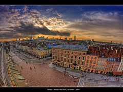 246/365 - HDR - PL.Warsaw.@.1200x799 (Pawel Tomaszewicz) Tags: camera new old city light sunset shadow wallpaper sky holiday fish eye colors beautiful clouds canon lens point photography eos town photo europe cityscape foto view angle image photos wide creative picture poland polska polish wideangle ps images x fisheye capitol stare warsaw 1200 fotografia scape 800 hdr warszawa hdri aparat iphone pawel miasto ipad architektura starwka chmury stolica 3xp photomatix greatphotographers 400d mariensztat 1200x800 fotografowie polscy tomaszewicz