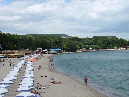 Varna beach,Bulgaria شاطئ