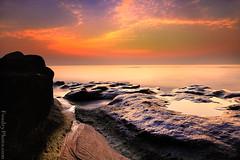 Sunrise of ramadn (A.alFoudry) Tags: pink blue sea orange cliff seascape black color green water rock stone clouds sunrise canon landscape eos rocks silent slow mark full filter silence lee edge frame shutter land 5d kuwait worm fullframe scape ramadan effect ef kuwaiti q8 abdullah عبدالله mark2 1635mm الكويت كويت || kuw q80 q8city xnuzha alfoudry الفودري abdullahalfoudry foudryphotocom mark|| 5d|| canoneos5d|| mk|| canoneos5dmark|| canonef1635mmf28l|| f28l||