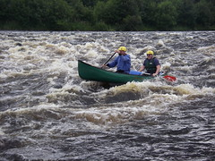 Spey Canoe descent journey 2-4 August 2010