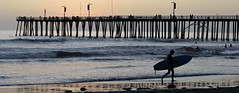 Surfing at the Pismo Pier (CalPoly_News) Tags: california surfing cp centralcoast pismobeach calpoly pismopier