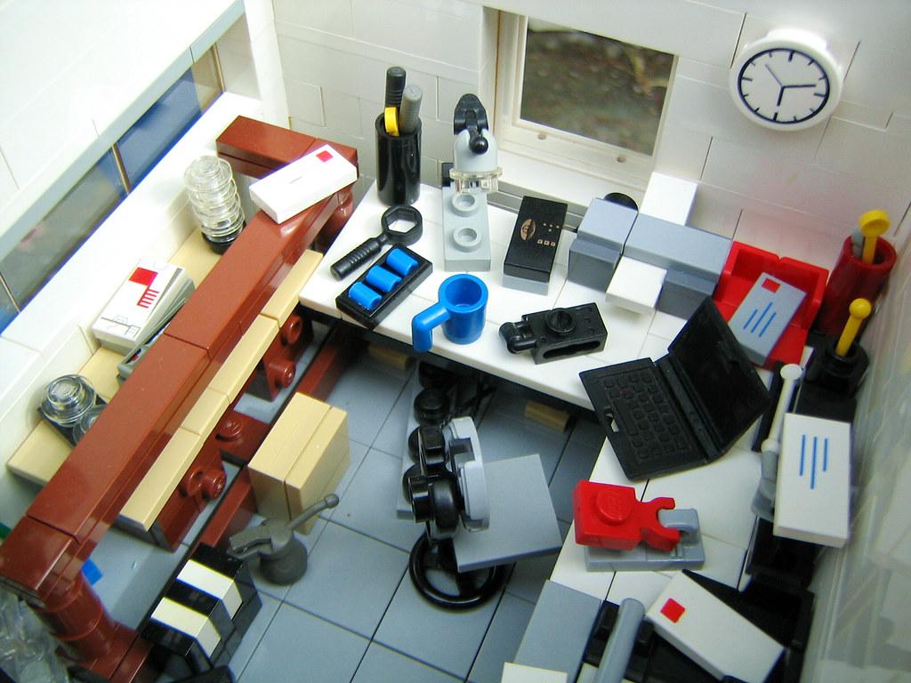 Arbeitszimmer 02  Brixe63  Tags  house kitchen bathroom keller bedroom lego furniture bad