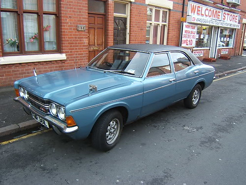 SEPTEMBER 1972 FORD CORTINA MK3 2000 GXL FNR361L