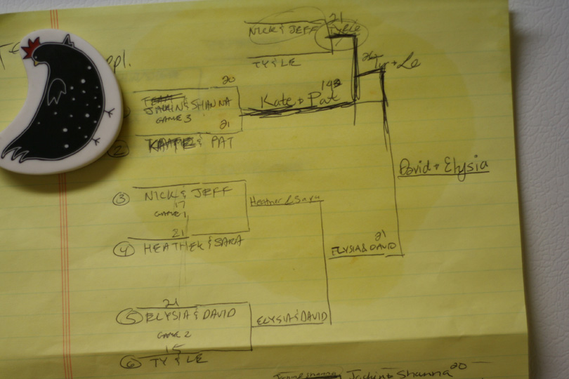 Ladder Golf Bracket