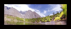 kachura lake(upper) , skardu , PAKISTAN (TARIQ HAMEED SULEMANI) Tags: pakistan panorama lake tourism trekking north lakes resort aslam tariq arif shangrilla skardu kachura concordians sulemani
