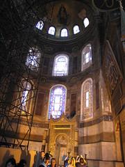 Hagia Sophia - Magnificient Byzantine Church Turned Mosque, Istanbul, Turkey (Pet_r) Tags: turkey ancient sofia roman istanbul mosque petr byzantine hagiasofia 2010 hagia hagiaspohia