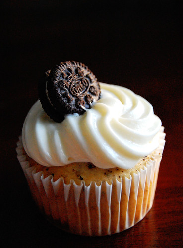 Cookies & Cream Cupcake Outside