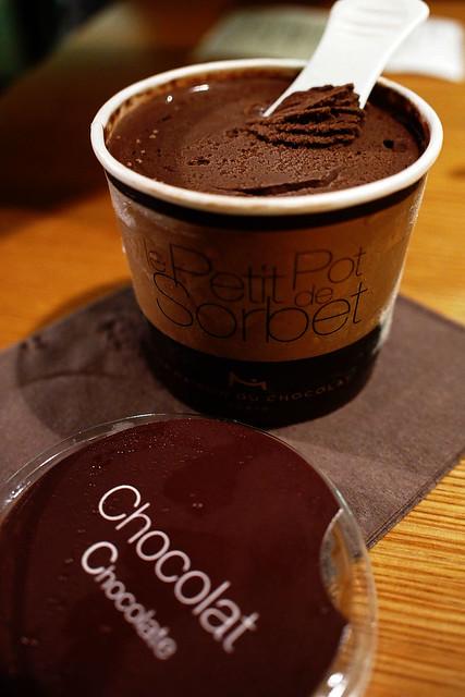 Chocolate Sorbet - La Maison du Chocolat