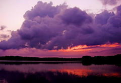 big cloud (bdaryle) Tags: sunset sky lake reflection nature water silhouette clouds landscape atardecer sony nubes bigcloud justclouds brandondaryle bdaryle imagesbybrandon mothernaturesgreenearth