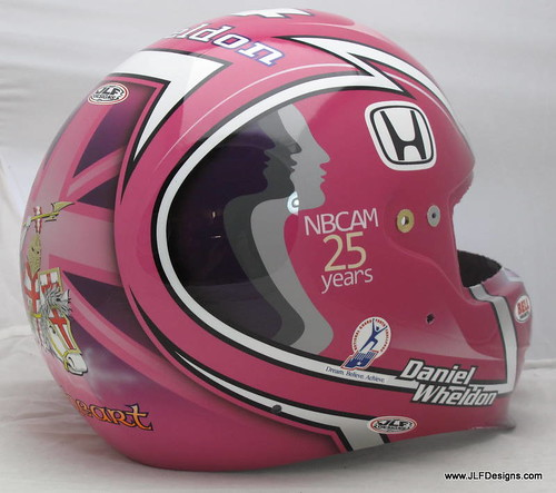 Another Dan Wheldon helmet