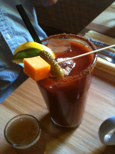 Longman & Eagle bloody Mary