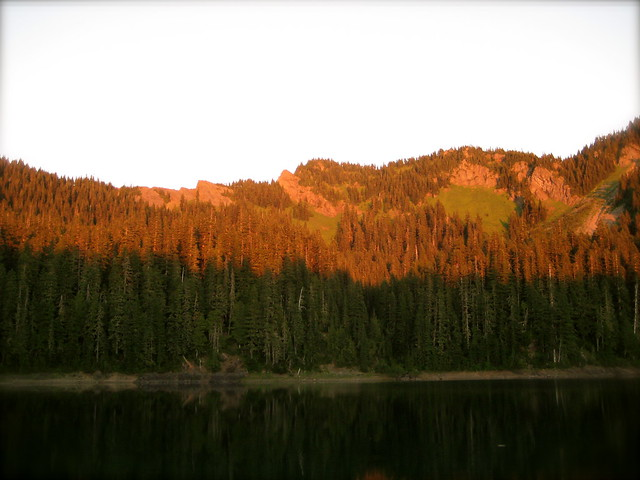 Evening at Lost Lake