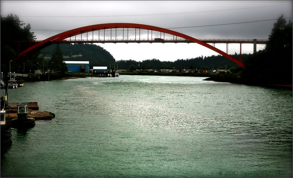 Rainbow Bridge Rainy Day