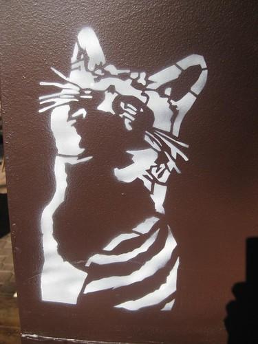 Stencil Cat