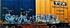 Diar - Dkal (mightyquinninwky) Tags: 2005 railroad fish train graffiti streak 05 tag graf tracks railway tags tagged railcar rails boxcar graff graphiti streaks tek freight dtc painteddoor kyt trainart rollingstock 2095 ttx paintedtrain fr8 railart whistleblower spraypaintart monikers moniker freightcar diar movingart paintedsteel boxcarart freightart dkal taggedboxcar paintedboxcar ttxcom paintedrailcar taggedrailcar reflecitvetape