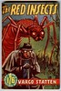 the red insects (unexpectedtales) Tags: old fiction art illustration work vintage paper book back artwork science paperback fantasy cover 1950s pulpfiction novel covers pulp sleaze statten vargo