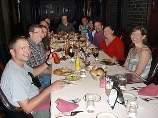 Birthday dinner at Johnny's Cafe