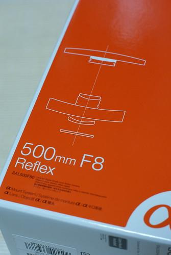 SONY 500mm F8 Reflex