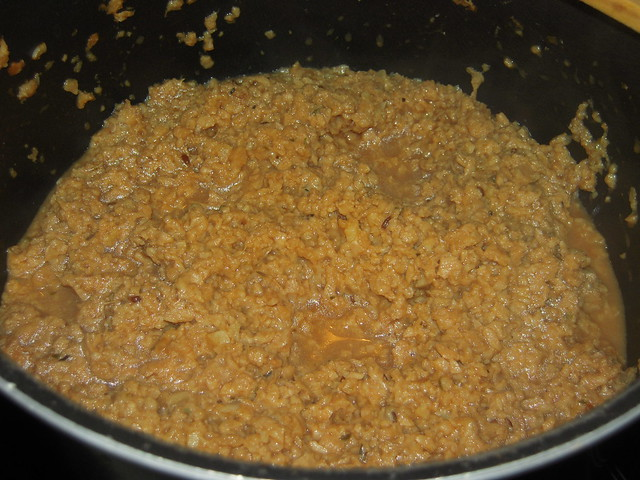 Cozinhando soja