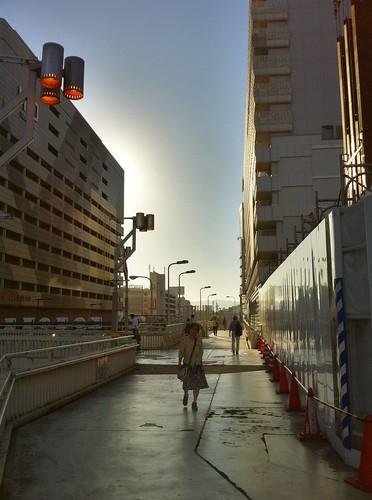 今日の写真 No.6 – 天王寺の歩道橋から/iPhone4 + Pro HDR