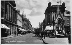 High Street, Inverness (RPMacLean) Tags: old scotland postcard highland inverness invernessshire