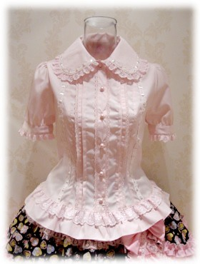 Anna house pink blouse L