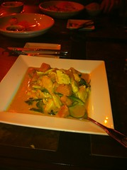 Pumpkin Curry at Exotic Thai