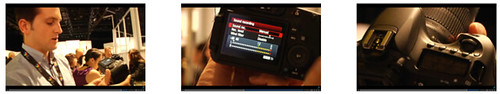 A brief hands-on video review of the Canon 60D by Engadget