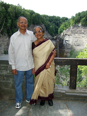 Maini and Baba at Taughannock