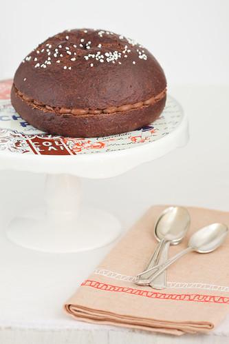 Petit tortell de xocolata