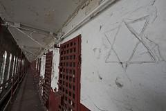 Hebrew Chisel (EvenShift///3) Tags: abandoned tn nashville state tennessee prison starofdavid penitentiary tennesseestatepenitentiary jailcells abandonedsouth abandonedpenitentiary