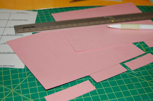 Cutting dividers with tabs