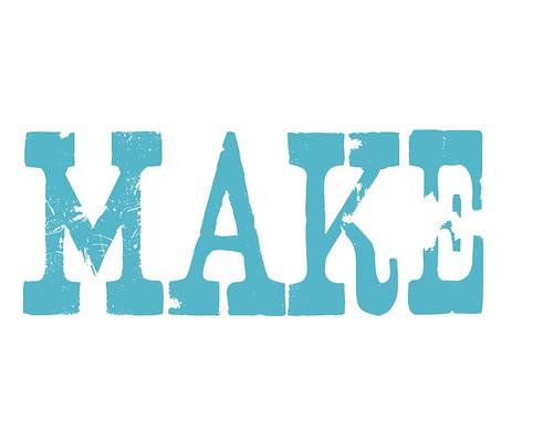 """Jenny: """"Make"""" Poster"""