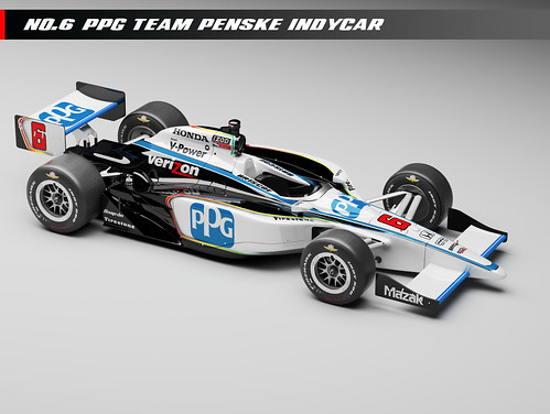 Team Penske PPG No. 6 car