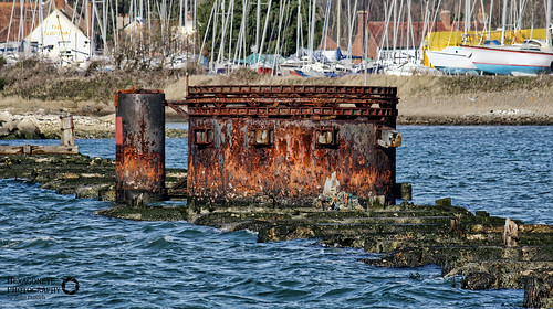 Hayling Rusty Swing Bridge