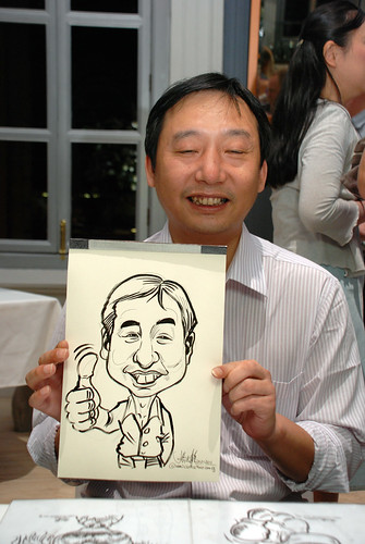 Caricature live sketching for Norden Shipping - 9