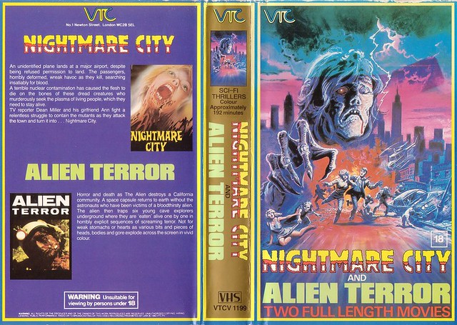 Alien Terror (VHS Box Art)
