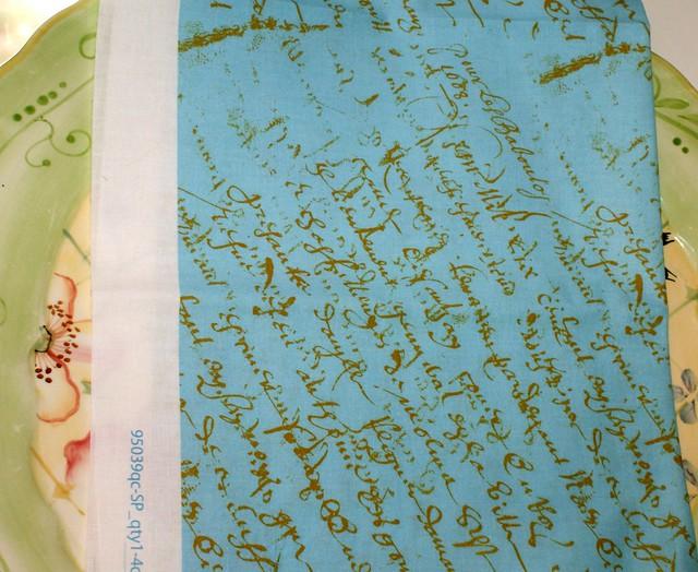 Aqua French Script