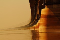 Jamuna Multi Purpose Bridge [Featured at Fifty Plus Group in mar 2011 ] (*HamimCHOWDHURY* [Only Posting photos ]) Tags: life red portrait blackandwhite white black green nature canon eos sand colorful faces blu sony surreal yellowflower dhaka vaio rgb bangladesh dlsr brickfield 60d jamunaresort 595036 framebangladesh 947411022011 incrediblebengaljamunabridge mirzapurcadetcollage