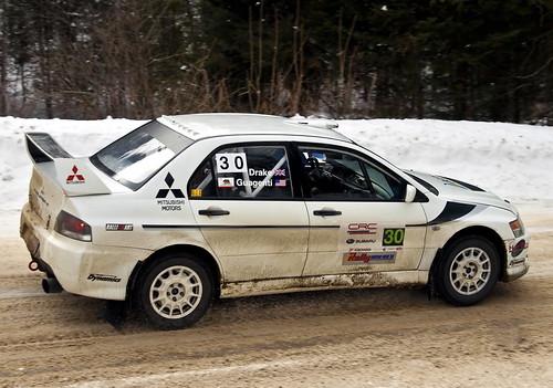 Mitsubishi Evo 9 Rally. Our Mitsubishi Evo IX rally