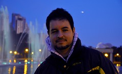 I (Carlos Santiago Ramal) Tags: blue valencia spain oceanografic d90