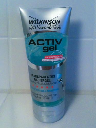Wilkinson ACTIV gel