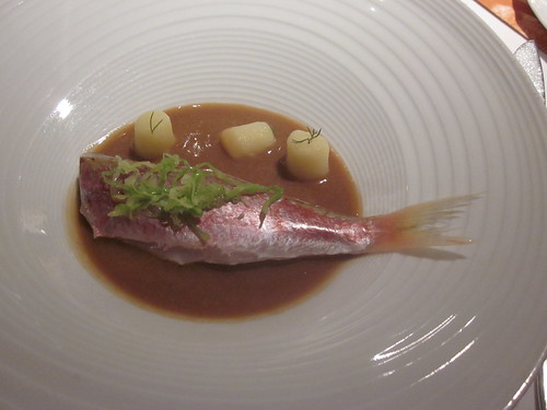 El Celler de Can Roca - Girona - February 2011 - Red Mullets with Suquet (Catalan Seafood Stew) and Lard