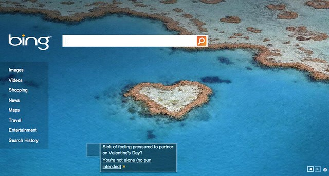 Valentine's Day Logo - Bing
