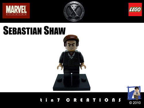 Custom minifig 62 - Sebastian Shaw